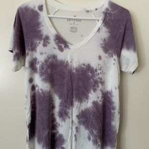 AEO soft and sexy tie die top
